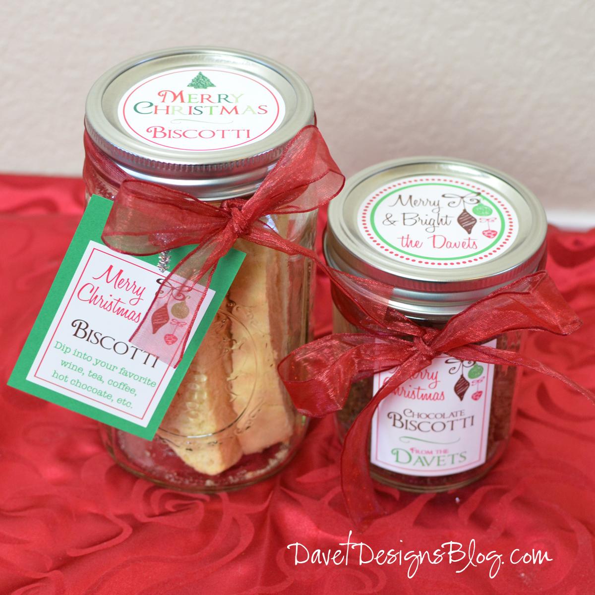 Biscotti in a Jar