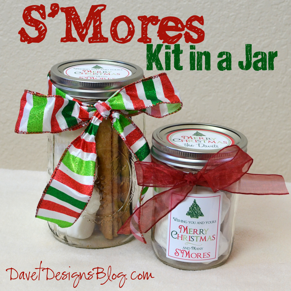 S'Mores Kit in a jar