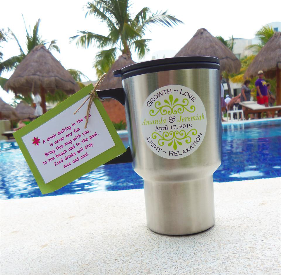 Travel Mug Wedding / Party Favor