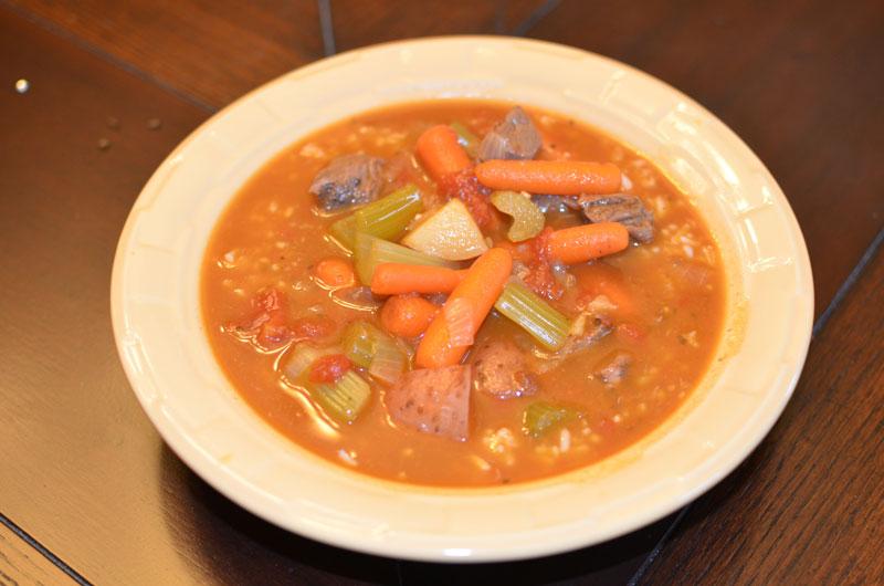 Homestyle Vegetable Beef Stew