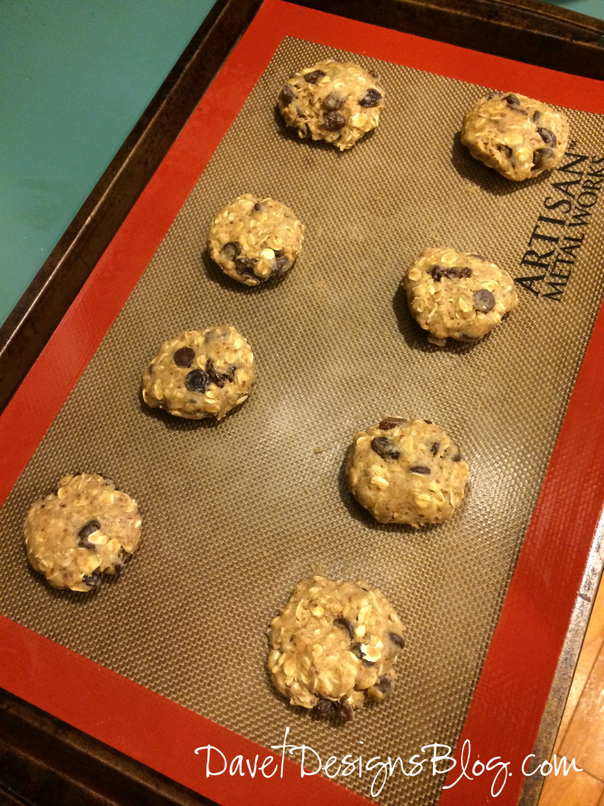 Healthy Eggless Oatmeal Chocolate Chip Lactation Cookies