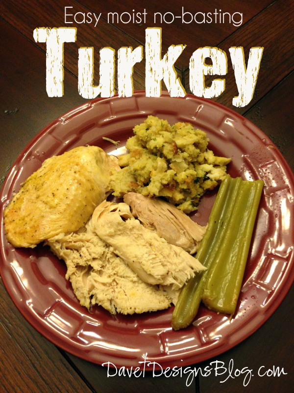 Baked Turkey Recipe - Easy, yummy, moist - best ever secret turkey recipe