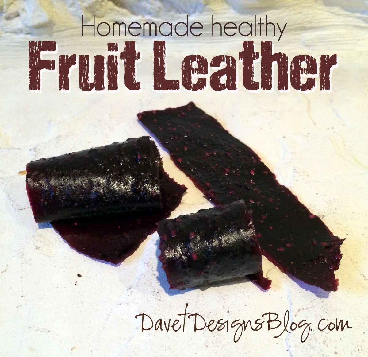 Homemade Fruit Leather Snacks