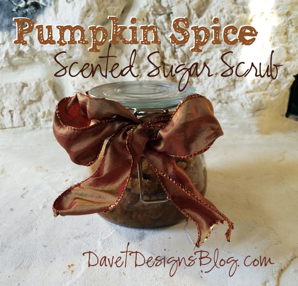 Pumpkin Spice Scented Sugar Scrub