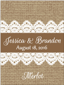 Wedding Rectangle WN-034