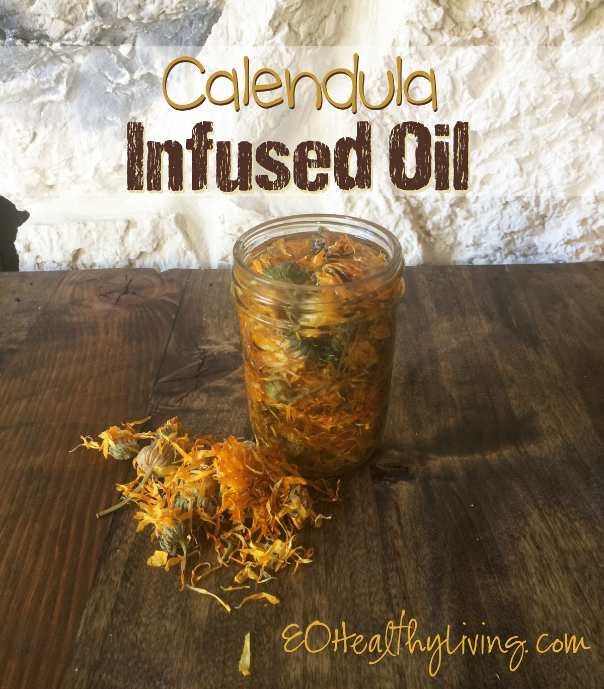 DIY Calendula Flower Infused Oil - Young Living