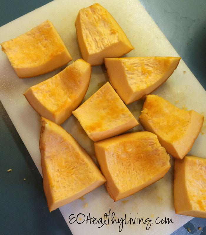 Homemade Instant Pot Pumpkin Puree
