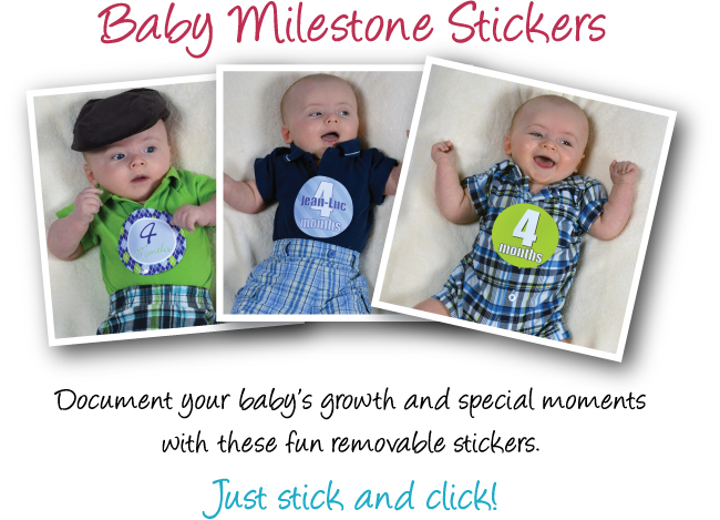 Onesie stickers by Davet Designs